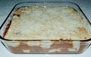 Lasagna før steking